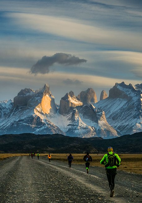 Ultra Trail Torres del Paine, Patagonia, Chile Trail Running
