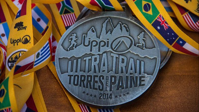 Ultra Trail Torres del Paine Medal Torres del Paine, Patagonia, Chile