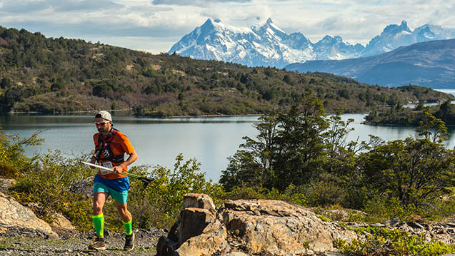 Ultra Trail Torres del Paine 2016, Patagonia, Chile Ultra Trail Running Juan Carlos Pastén