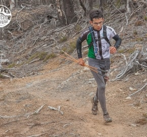 Rodrigo Lara Molina Ultra Trail Running during Ultra Trail Torres del Paine's Third Edition 2016 in Provincia de Última Esperanza, Patagonia, Chile