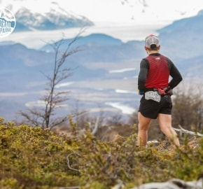 Emmanuel Acuña Ultra Trail Running during Ultra Trail Torres del Paine's Third Edition 2016 in Provincia de Última Esperanza, Patagonia, Chile