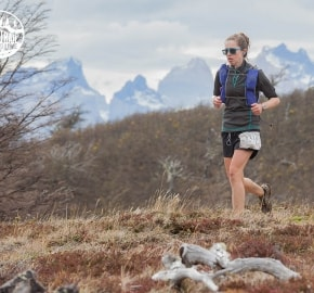 Javiera Vidal Ultra Trail Running during Ultra Trail Torres del Paine's Third Edition 2016 in Provincia de Última Esperanza, Patagonia, Chile