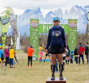 Ariela Mansilla Ultra Trail Running during Ultra Trail Torres del Paine's Third Edition 2016 in Provincia de Última Esperanza, Patagonia, Chile