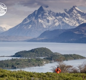 Ultra Trail Running during Ultra Trail Torres del Paine's Third Edition 2016 in Provincia de Última Esperanza, Patagonia, Chile
