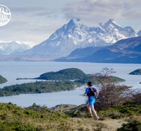 Tito Nazar Ultra Trail Running during Ultra Trail Torres del Paine's Third Edition 2016 in Provincia de Última Esperanza, Patagonia, Chile