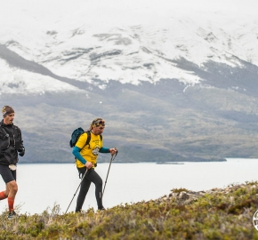 DSC_9280_edhe_fb; Ultra Trail Running Patagonia for fifth edition of Ultra Paine 2018 in Provincia de Última Esperanza, Patagonia Chile; International Ultra Trail Running Event; Quinta Edición Trail Running Internacional, Chilean Patagonia 2018