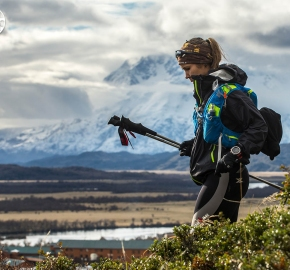 DSC_9678_edhe_fb; Ultra Trail Running Patagonia for fifth edition of Ultra Paine 2018 in Provincia de Última Esperanza, Patagonia Chile; International Ultra Trail Running Event; Quinta Edición Trail Running Internacional, Chilean Patagonia 2018