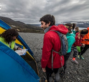 EHA8431_edhe_fb; Ultra Trail Running Patagonia for fifth edition of Ultra Paine 2018 in Provincia de Última Esperanza, Patagonia Chile; International Ultra Trail Running Event; Quinta Edición Trail Running Internacional, Chilean Patagonia 2018
