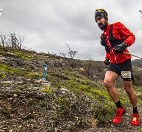 EHA8504_edhe_fb; Ultra Trail Running Patagonia for fifth edition of Ultra Paine 2018 in Provincia de Última Esperanza, Patagonia Chile; International Ultra Trail Running Event; Quinta Edición Trail Running Internacional, Chilean Patagonia 2018