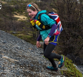 EHA8762_edhe_fb; Ultra Trail Running Patagonia for fifth edition of Ultra Paine 2018 in Provincia de Última Esperanza, Patagonia Chile; International Ultra Trail Running Event; Quinta Edición Trail Running Internacional, Chilean Patagonia 2018