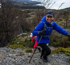 EHA8915_edhe_fb; Ultra Trail Running Patagonia for fifth edition of Ultra Paine 2018 in Provincia de Última Esperanza, Patagonia Chile; International Ultra Trail Running Event; Quinta Edición Trail Running Internacional, Chilean Patagonia 2018