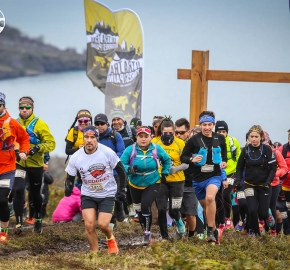 IMG_0221_roso_fb; Ultra Trail Running Patagonia for fifth edition of Ultra Paine 2018 in Provincia de Última Esperanza, Patagonia Chile; International Ultra Trail Running Event; Quinta Edición Trail Running Internacional, Chilean Patagonia 2018