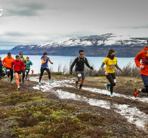 RMSB8273_roso_fb; Ultra Trail Running Patagonia for fifth edition of Ultra Paine 2018 in Provincia de Última Esperanza, Patagonia Chile; International Ultra Trail Running Event; Quinta Edición Trail Running Internacional, Chilean Patagonia 2018