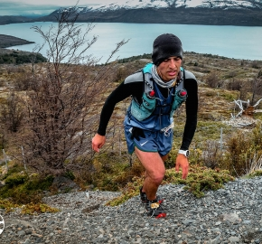 RMSB8318_roso_fb; Ultra Trail Running Patagonia for fifth edition of Ultra Paine 2018 in Provincia de Última Esperanza, Patagonia Chile; International Ultra Trail Running Event; Quinta Edición Trail Running Internacional, Chilean Patagonia 2018