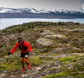 RMSB8368_roso_fb; Ultra Trail Running Patagonia for fifth edition of Ultra Paine 2018 in Provincia de Última Esperanza, Patagonia Chile; International Ultra Trail Running Event; Quinta Edición Trail Running Internacional, Chilean Patagonia 2018