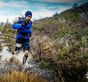 RMSB8424_roso_fb; Ultra Trail Running Patagonia for fifth edition of Ultra Paine 2018 in Provincia de Última Esperanza, Patagonia Chile; International Ultra Trail Running Event; Quinta Edición Trail Running Internacional, Chilean Patagonia 2018