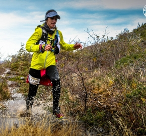 RMSB8438_roso_fb; Ultra Trail Running Patagonia for fifth edition of Ultra Paine 2018 in Provincia de Última Esperanza, Patagonia Chile; International Ultra Trail Running Event; Quinta Edición Trail Running Internacional, Chilean Patagonia 2018