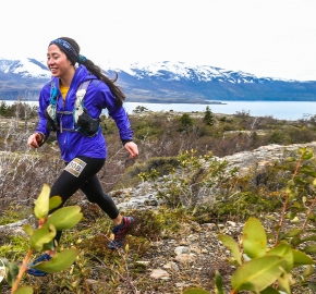 RMSB8515_roso_fb; Ultra Trail Running Patagonia for fifth edition of Ultra Paine 2018 in Provincia de Última Esperanza, Patagonia Chile; International Ultra Trail Running Event; Quinta Edición Trail Running Internacional, Chilean Patagonia 2018