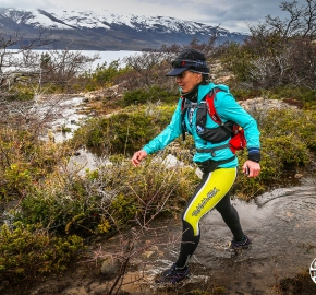 RMSB8528_roso_fb; Ultra Trail Running Patagonia for fifth edition of Ultra Paine 2018 in Provincia de Última Esperanza, Patagonia Chile; International Ultra Trail Running Event; Quinta Edición Trail Running Internacional, Chilean Patagonia 2018