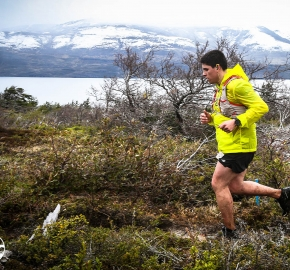RMSB8583_roso_fb; Ultra Trail Running Patagonia for fifth edition of Ultra Paine 2018 in Provincia de Última Esperanza, Patagonia Chile; International Ultra Trail Running Event; Quinta Edición Trail Running Internacional, Chilean Patagonia 2018