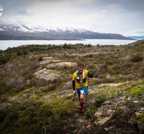 RMSB8678_roso_fb; Ultra Trail Running Patagonia for fifth edition of Ultra Paine 2018 in Provincia de Última Esperanza, Patagonia Chile; International Ultra Trail Running Event; Quinta Edición Trail Running Internacional, Chilean Patagonia 2018