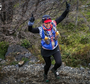RMSB8736_roso_fb; Ultra Trail Running Patagonia for fifth edition of Ultra Paine 2018 in Provincia de Última Esperanza, Patagonia Chile; International Ultra Trail Running Event; Quinta Edición Trail Running Internacional, Chilean Patagonia 2018