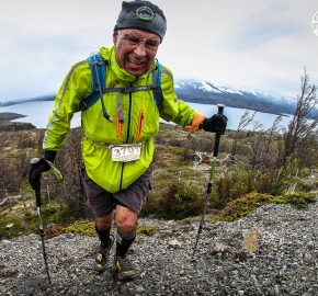 RMSB8772_roso_fb; Ultra Trail Running Patagonia for fifth edition of Ultra Paine 2018 in Provincia de Última Esperanza, Patagonia Chile; International Ultra Trail Running Event; Quinta Edición Trail Running Internacional, Chilean Patagonia 2018