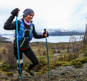 RMSB8846_roso_fb; Ultra Trail Running Patagonia for fifth edition of Ultra Paine 2018 in Provincia de Última Esperanza, Patagonia Chile; International Ultra Trail Running Event; Quinta Edición Trail Running Internacional, Chilean Patagonia 2018