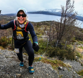 RMSB8871_roso_fb; Ultra Trail Running Patagonia for fifth edition of Ultra Paine 2018 in Provincia de Última Esperanza, Patagonia Chile; International Ultra Trail Running Event; Quinta Edición Trail Running Internacional, Chilean Patagonia 2018