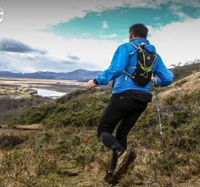 RMSB9322_roso_fb; Ultra Trail Running Patagonia for fifth edition of Ultra Paine 2018 in Provincia de Última Esperanza, Patagonia Chile; International Ultra Trail Running Event; Quinta Edición Trail Running Internacional, Chilean Patagonia 2018