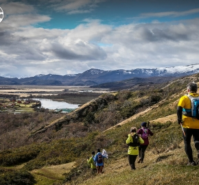 RMSB9483_roso_fb; Ultra Trail Running Patagonia for fifth edition of Ultra Paine 2018 in Provincia de Última Esperanza, Patagonia Chile; International Ultra Trail Running Event; Quinta Edición Trail Running Internacional, Chilean Patagonia 2018