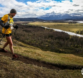 RMSB9661_roso_fb; Ultra Trail Running Patagonia for fifth edition of Ultra Paine 2018 in Provincia de Última Esperanza, Patagonia Chile; International Ultra Trail Running Event; Quinta Edición Trail Running Internacional, Chilean Patagonia 2018