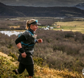 RMSB9726_roso_fb; Ultra Trail Running Patagonia for fifth edition of Ultra Paine 2018 in Provincia de Última Esperanza, Patagonia Chile; International Ultra Trail Running Event; Quinta Edición Trail Running Internacional, Chilean Patagonia 2018