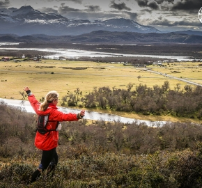 RMSB9753_roso_fb; Ultra Trail Running Patagonia for fifth edition of Ultra Paine 2018 in Provincia de Última Esperanza, Patagonia Chile; International Ultra Trail Running Event; Quinta Edición Trail Running Internacional, Chilean Patagonia 2018