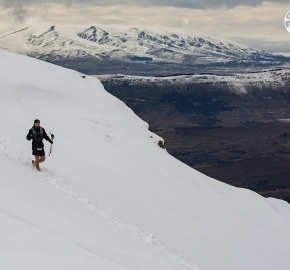 ultrapaine_0020_gv_fb; Ultra Trail Running Patagonia for fifth edition of Ultra Paine 2018 in Provincia de Última Esperanza, Patagonia Chile; International Ultra Trail Running Event; Quinta Edición Trail Running Internacional, Chilean Patagonia 2018