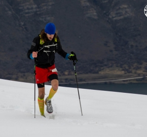 ultrapaine_0031_gv_fb; Ultra Trail Running Patagonia for fifth edition of Ultra Paine 2018 in Provincia de Última Esperanza, Patagonia Chile; International Ultra Trail Running Event; Quinta Edición Trail Running Internacional, Chilean Patagonia 2018