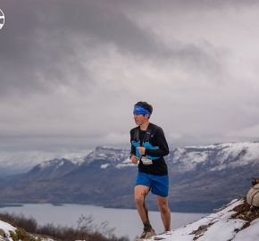 uttp1809paai0968fb; Ultra Trail Running Patagonia for fifth edition of Ultra Paine 2018 in Provincia de Última Esperanza, Patagonia Chile; International Ultra Trail Running Event; Quinta Edición Trail Running Internacional, Chilean Patagonia 2018