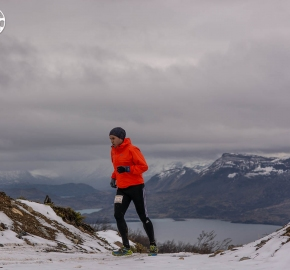 uttp1809paai0997fb; Ultra Trail Running Patagonia for fifth edition of Ultra Paine 2018 in Provincia de Última Esperanza, Patagonia Chile; International Ultra Trail Running Event; Quinta Edición Trail Running Internacional, Chilean Patagonia 2018