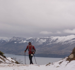 uttp1809paai1185fb; Ultra Trail Running Patagonia for fifth edition of Ultra Paine 2018 in Provincia de Última Esperanza, Patagonia Chile; International Ultra Trail Running Event; Quinta Edición Trail Running Internacional, Chilean Patagonia 2018