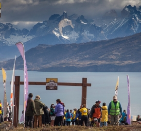 utp1909clsi1909 (32); Ultra Trail Running Patagonia Sixth Edition of Ultra Paine 2019 Provincia de Última Esperanza, Patagonia Chile; International Ultra Trail Running Event; Sexta Edición Trail Running Internacional, Chilean Patagonia 2019