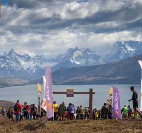 utp1909clsi1909 (35); Ultra Trail Running Patagonia Sixth Edition of Ultra Paine 2019 Provincia de Última Esperanza, Patagonia Chile; International Ultra Trail Running Event; Sexta Edición Trail Running Internacional, Chilean Patagonia 2019