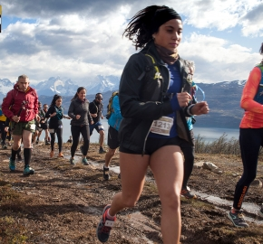 utp1909clsi1909 (48); Ultra Trail Running Patagonia Sixth Edition of Ultra Paine 2019 Provincia de Última Esperanza, Patagonia Chile; International Ultra Trail Running Event; Sexta Edición Trail Running Internacional, Chilean Patagonia 2019