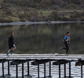 utp1909lues0732; Ultra Trail Running Patagonia Sixth Edition of Ultra Paine 2019 Provincia de Última Esperanza, Patagonia Chile; International Ultra Trail Running Event; Sexta Edición Trail Running Internacional, Chilean Patagonia 2019