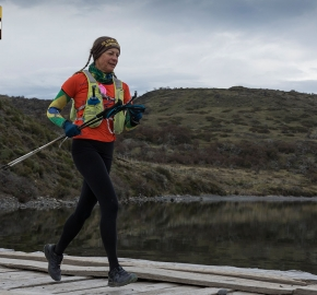 utp1909lues0784; Ultra Trail Running Patagonia Sixth Edition of Ultra Paine 2019 Provincia de Última Esperanza, Patagonia Chile; International Ultra Trail Running Event; Sexta Edición Trail Running Internacional, Chilean Patagonia 2019