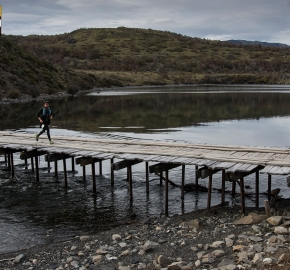 utp1909lues0850; Ultra Trail Running Patagonia Sixth Edition of Ultra Paine 2019 Provincia de Última Esperanza, Patagonia Chile; International Ultra Trail Running Event; Sexta Edición Trail Running Internacional, Chilean Patagonia 2019