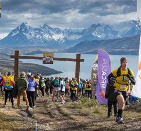 utp1909lues1044; Ultra Trail Running Patagonia Sixth Edition of Ultra Paine 2019 Provincia de Última Esperanza, Patagonia Chile; International Ultra Trail Running Event; Sexta Edición Trail Running Internacional, Chilean Patagonia 2019