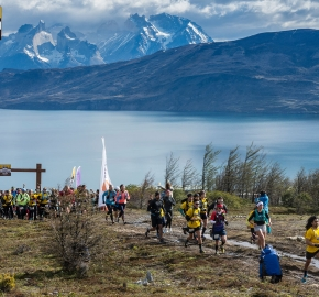 utp1909lues1059; Ultra Trail Running Patagonia Sixth Edition of Ultra Paine 2019 Provincia de Última Esperanza, Patagonia Chile; International Ultra Trail Running Event; Sexta Edición Trail Running Internacional, Chilean Patagonia 2019