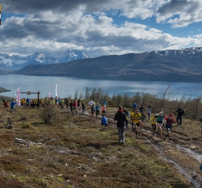 utp1909lues1060; Ultra Trail Running Patagonia Sixth Edition of Ultra Paine 2019 Provincia de Última Esperanza, Patagonia Chile; International Ultra Trail Running Event; Sexta Edición Trail Running Internacional, Chilean Patagonia 2019