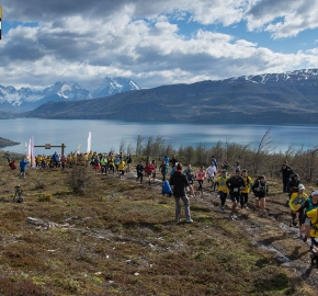 utp1909lues1062; Ultra Trail Running Patagonia Sixth Edition of Ultra Paine 2019 Provincia de Última Esperanza, Patagonia Chile; International Ultra Trail Running Event; Sexta Edición Trail Running Internacional, Chilean Patagonia 2019