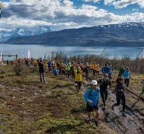 utp1909lues1064; Ultra Trail Running Patagonia Sixth Edition of Ultra Paine 2019 Provincia de Última Esperanza, Patagonia Chile; International Ultra Trail Running Event; Sexta Edición Trail Running Internacional, Chilean Patagonia 2019
